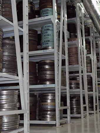 Bóvedas Filmoteca UNAM