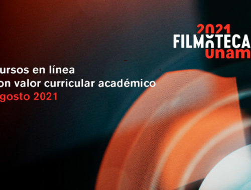 cursos en linea agosto Filmoteca UNAM